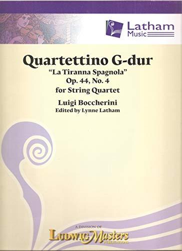 Quartettino in G Major: Conductor Score & Parts (Latham Music)の詳細を見る