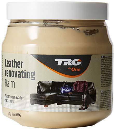 TRG Leder Renovieren Balsam - Passend für Leder Möbel, Jacken und taschen 300ml (Verschiedene Farben Erhältlich) - Creme,