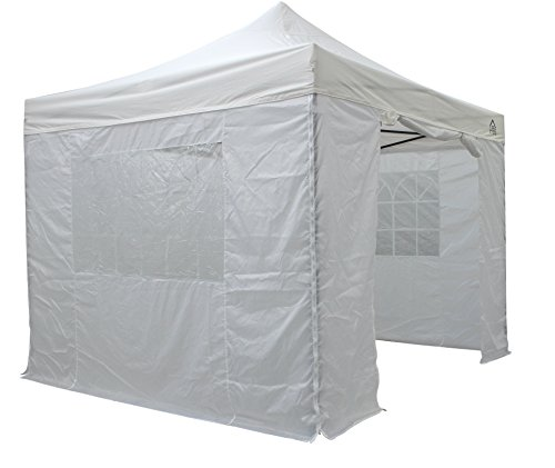 All Seasons Gazebos 3x3m Waterproof Pop Up Gazebo - White (Standard Sides)