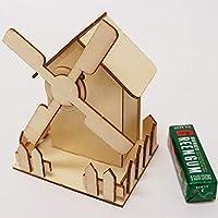 オルゴールの木製おうち工作キット / 手作り 色塗り お絵かき  3284