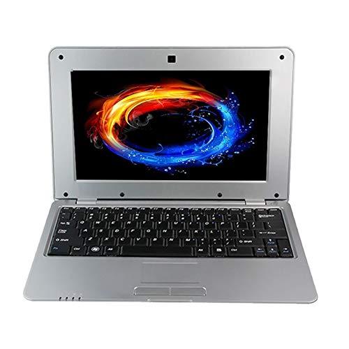 JSNASUI Tableta de 13 Pulgadas Netbook PC, 10.1 Pulgadas, 1 GB + 8 GB, Acciones S500 Quad-Core 1.5GHz en Android 5.1, Wi-Fi, USB, SD, RJ45, Interfaz HDMI HD (Color : Silver)