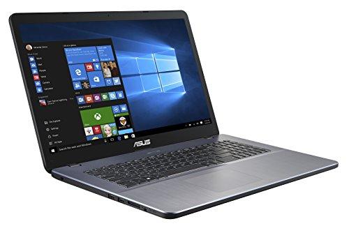 ASUS VivoBook 17 F705MA (90NB0IF2-M02420) 43,9 cm (17,3 Zoll, HD+, matt) Notebook (Intel Pentium N5000, Intel UHD-Grafik 605, 8GB RAM, 256GB SSD, Windows 10) Star Grey