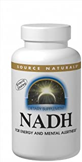 Source Naturals NADH 10mg, Boost Energy and Mental Alertness, 10 Tablets