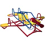 Lifetime 151110 Ace Flyer Airplane Teeter Totter, Primary Colors