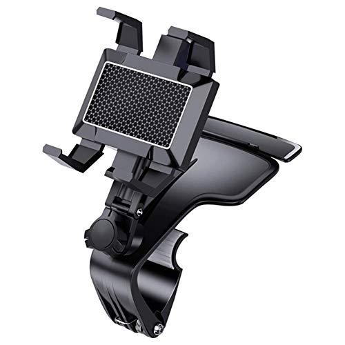 USNASLM Soporte para coche de 360 grados con una sola mano, para teléfono inteligente iPhone, Samsung, GPS, accesorios de teléfono móvil