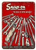 GRYD Snap-On Tools Vintage Metal Tin Signs...