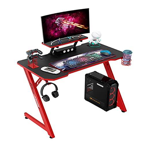 IntimaTe WM Heart Mesa Gaming 110cm Mesa Ergonómico para Ordenador,
