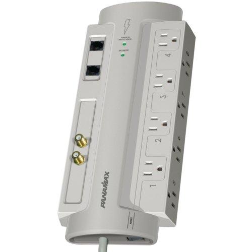 Panamax SP8-AV AC-Telephone-Coax Surge Protect - Silver