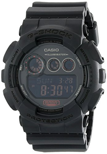 f9275fca3781 G-Shock GD-120 Military Black Sports Stylish Watch