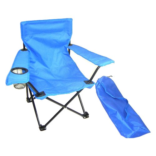 Redmon for Kids Kids Folding Camp Chair, Blue