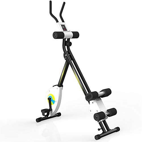 JJSFJH Indoor Cycling Bike,Stationary Bike,Recumbent Exercise Bike,Magnetic Upright Exercise Bike/Pulse Sensor/LCD Monitor with Arm Resistance Bands,Perfect for Home Use