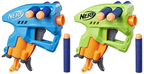 Nerf N-Strike Nano Fire, Blue & Green