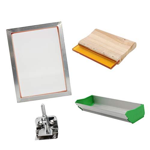 FLAMEER Kit de Máquina de Serigrafía para Bricolaje de Camiseta