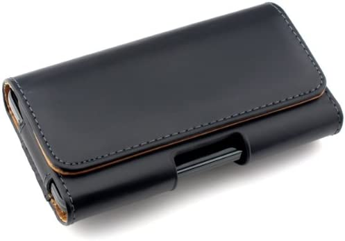 kwmobile Belt Clip Case Compatible with Smartphones 5 7 x 2 8 inches 14 4 x 7 cm Universal PU product image
