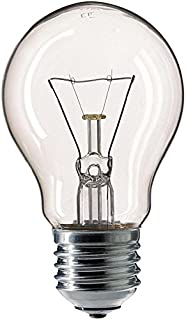 Philips 30600003 E - Bombilla incandescente (cristal, 60 W, E27, 5,5 x 5,5 x 9,25 cm)