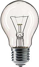Philips 3060003 E gloeilamp peervorm, glas, 60 watt, E27, helder, 5,5 x 5,5 x 9,25 cm