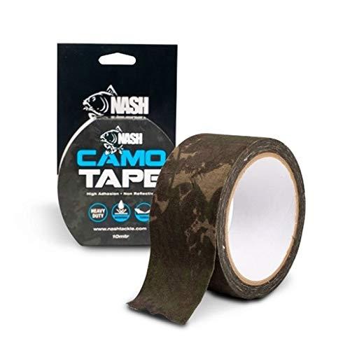 Nash Camo Tape 10m T3161 Klebeband Angelklebeband Camotape Klebe Band Paketband