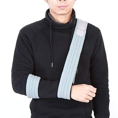 Antebrazo Brazo Honda Inmovilizador de hombro Correa de soporte para fracturas ortopédicas, Inmovilizador de brazo roto Soporte de codo de muñeca para hombres, mujeres Lesiones Tratamiento de fractura
