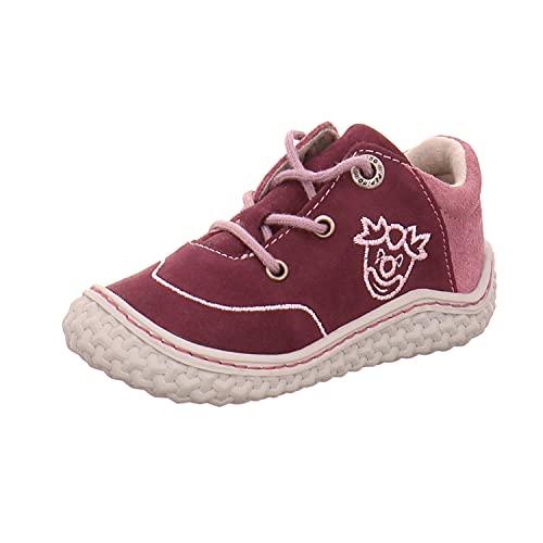 RICOSTA Kinder Low-Top Sneaker FIPS von Pepino, Weite: Mittel (WMS),Barfuß-Schuh, Kinderschuhe Spielen detailreich,Merlot,23 EU / 6 Child UK