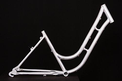 MIFA 28' Zoll Alu Damen Fahrrad Rahmen City Bike Classic Vintage Retro Frame Rh 45cm roh unlackiert Naben Schaltung