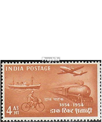 Prophila Collection Indien 232-235 (kompl.Ausg.) 1954 Philatelie (Briefmarken für Sammler) Eisenbahn / Seilbahn