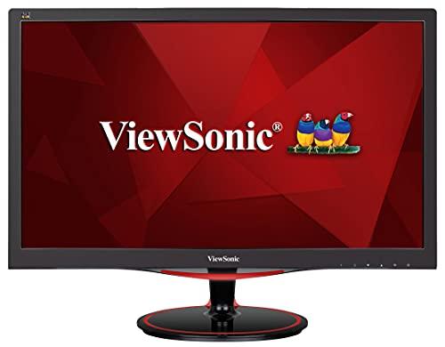 Viewsonic VX2458-MHD 60 cm (24 Zoll) Gaming Monitor (Full-HD, 1 ms, 144 Hz, FreeSync, geringer Input Lag, HDMI, DP) Schwarz