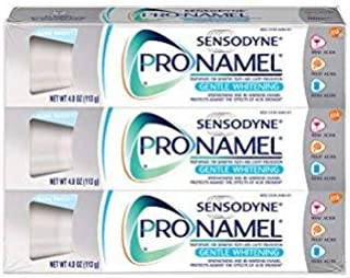 Sensodyne Pronamel Gentle Whitening Enamel Toothpaste for Sensitive Teeth, Alpine Breeze - 4 Ounces (Pack of 3)