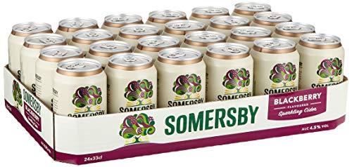 Somersby Blackberry Cider, Dose Einweg (24 x 0.33 l)