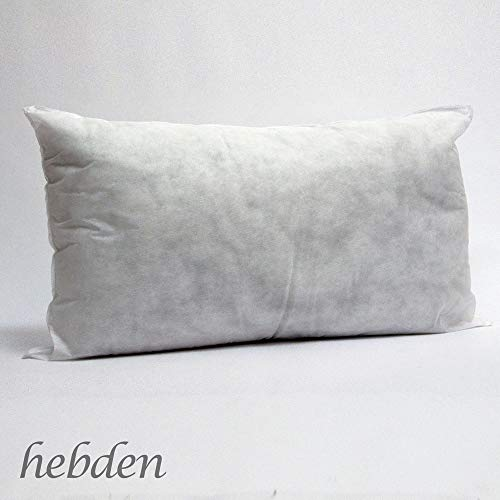 Willows Direct Customised Hollowfibre Rectangle Oblong Cushion Pads Insert Inner Scatter Pillow (14'(35cm), 30'(75cm))