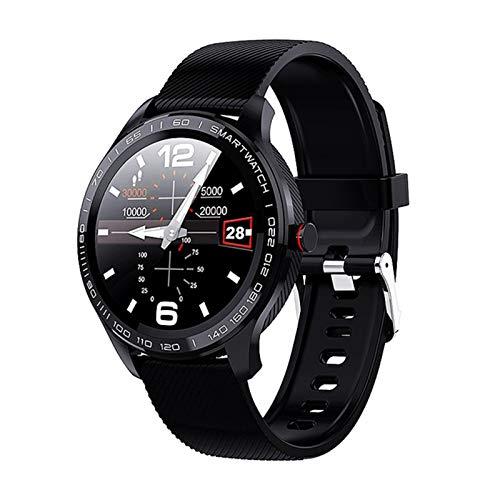 YDK L9 Smart Watch 2021 Nueva Pulsera de Fitness Bluetooth Llamada a Prueba de Agua Reloj Digital para Hombres para Android,D