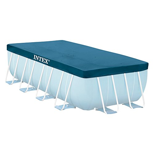 INTEX Bâche de Protection pour Piscine Tubulaire Rectangulaire, 389 x 184 cm