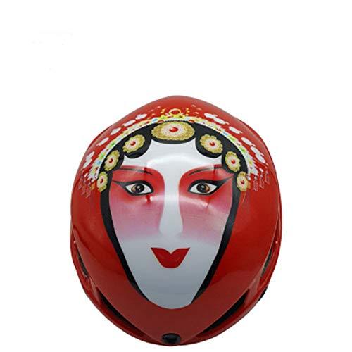 Maschera per il viso, da uomo e donna, casco protettivo per strade di montagna, occhiali di protezione magnetici, 123, rosso, size