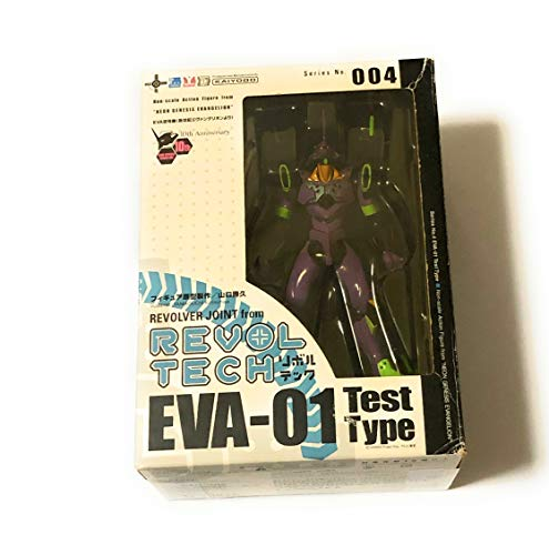 Revoltech: Neon Genesis Evangelion Unit 01 Action Figure [Toy] (japan import)