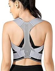 Posture Corrector Brace Back, rugbrace, verstelbare rugstrekker ter ondersteuning van het sleutelbeen voor pijnverlichting van nek, rug en schouder