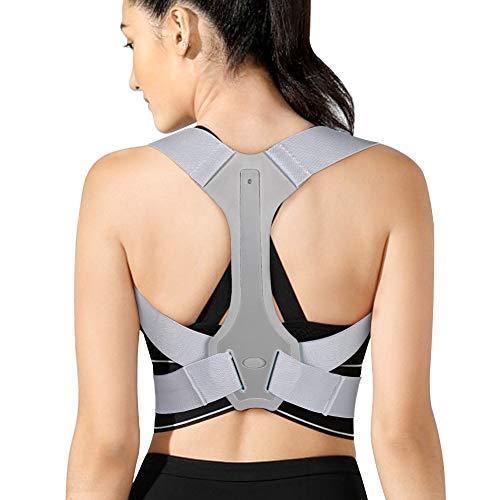 Parentesi graffa correttore postura Indietro, Supporto per la schiena superiore Supporto per la schiena Correttore postura Raddrizzatore posteriore regolabile per supporto clavicola