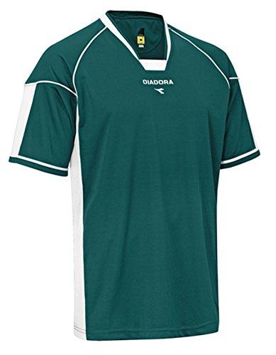 Diadora Quadro Jersey Shirt, Forest, Medium