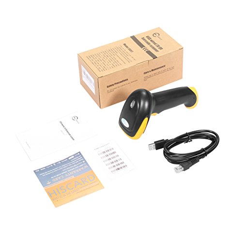 Esky ES017 Handheld USB Wired Barcode Scanner - Automatic 1D and 2D QR Code Reader Photo #2