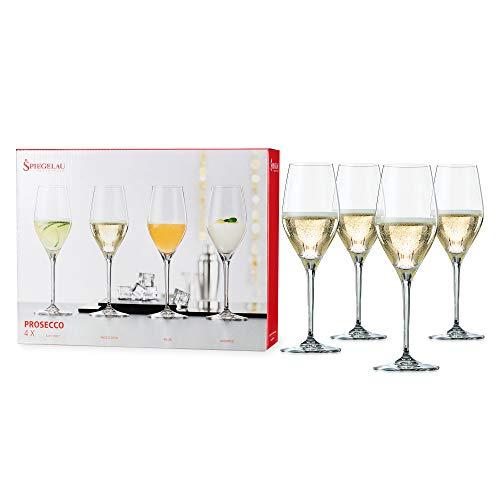Spiegelau Prosecco Glasses, set of 4