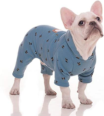 Stock Show Pet Clothes Small Dog Four Legs Clothes Bulldog Teddy Autumn Winter Soft Warm Velvet product image