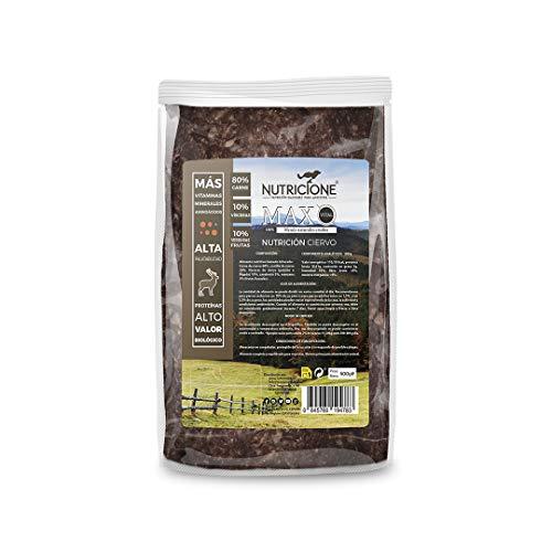 Nutricione - Barf MAX Vital Menú Completo Natural Ciervo 5kg congelado (10 Paquetes 500gr)