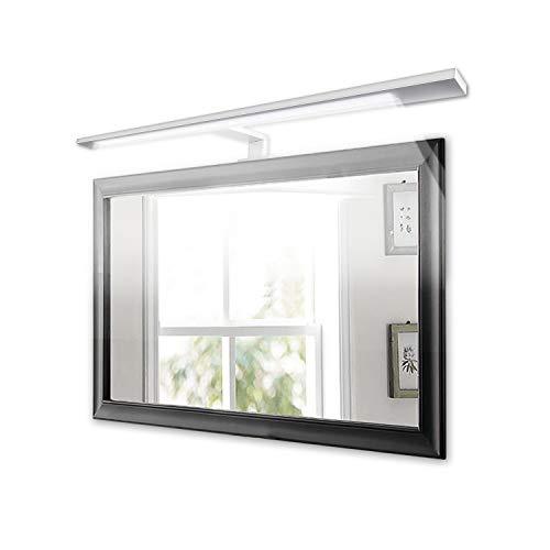LED Spiegelleuchte,7W, 600mm, Alumina, Warmweiß(3000K), 1100lm, 72x2835SMDs, Badleuchte Schrankleuchte Wandlampe Wandleuchte