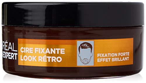 L'Oréal Men Expert - BarberClub - Cire Fixante Look Rétro - Fixation Forte & Effet Brillant - 75 ml