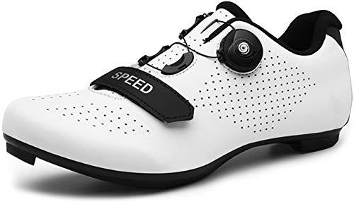 Cycling Shoes Men Road Cycling Mountain Biking SPD/SPD-SL Compatible MTB Quick-Lock...