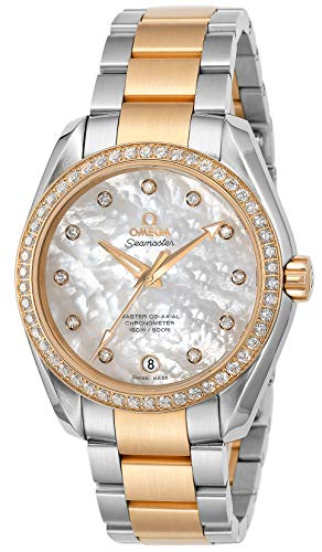 [オメガ] 腕時計 ホワイトパール文字盤 231.25.39.21.55.002 レディース 並行輸入品 シルバー
