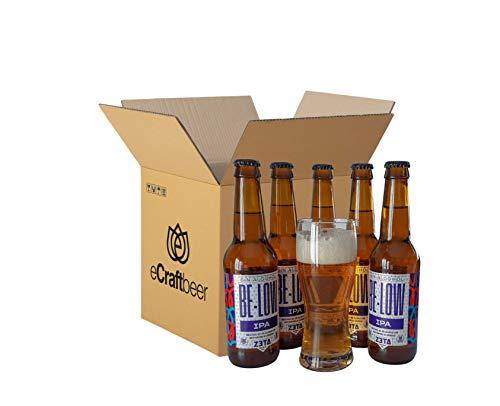 BELOW IPA SIN ALCOHOL - PACK DEGUSTACIÓN REGALO (5 x 33cl +...