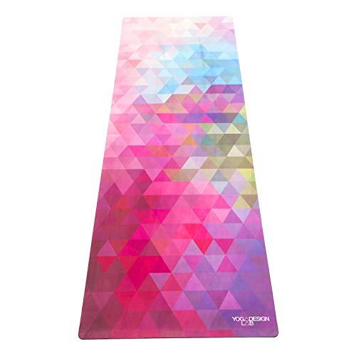 Yoga Design Lab La Esterilla de Yoga Combo 3.5mm Dos en Uno | Antideslizante | Acolchada | Ecológica | Lavable a la Máquina (Tribeca Sand)