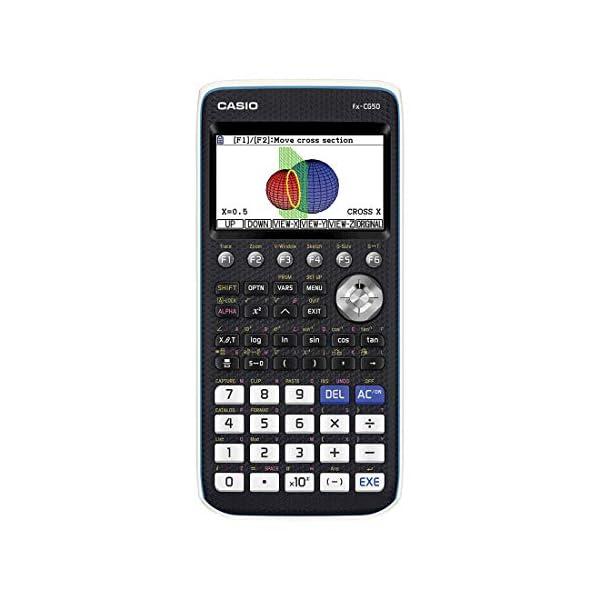 Casio-FX-CG50-Poche-Calculatrice-graphique-Noir-Bleu-Blanc-calculatrice-Calculatrices-Poche-Calculatrice-graphique-15-chiffres-Flash-BatteriePile-Noir-Bleu-Blanc