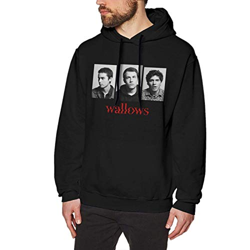Yougou Wallows Band Hoodies Sweatshirts Long Sleeve Tops Men's Casual Printed No Pocket Pullover