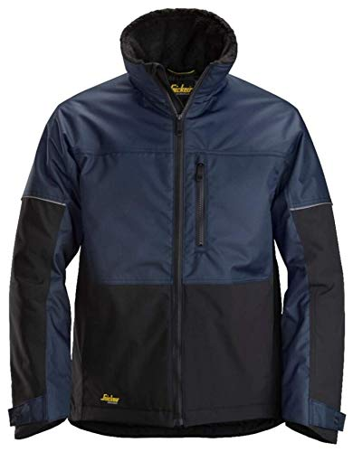 Snickers Workwear Herren Insulated Jacket, Blue/Black, M