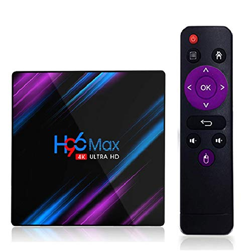 ZWL H96 MAX RK3318 Smart-TV-Box Android 9 9,0 64 GB 4K YouTube Media Player H96MAX TVBOX Android TV Set-Top-Box